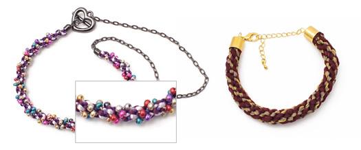 Kumihimo bracelts