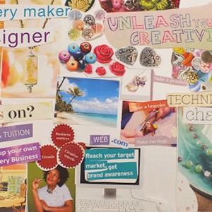 jewellery maker vision board