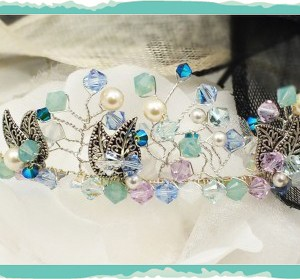 Beautiful Spring-time inspired tiara