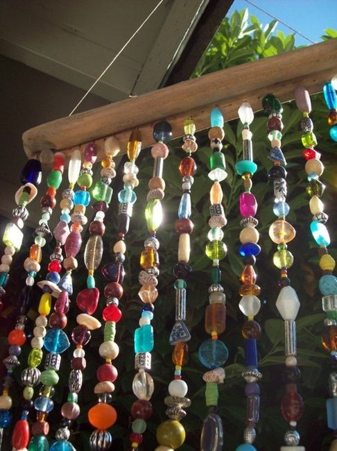 Decorating Your Garden Space With Beaded Wind Chimes The