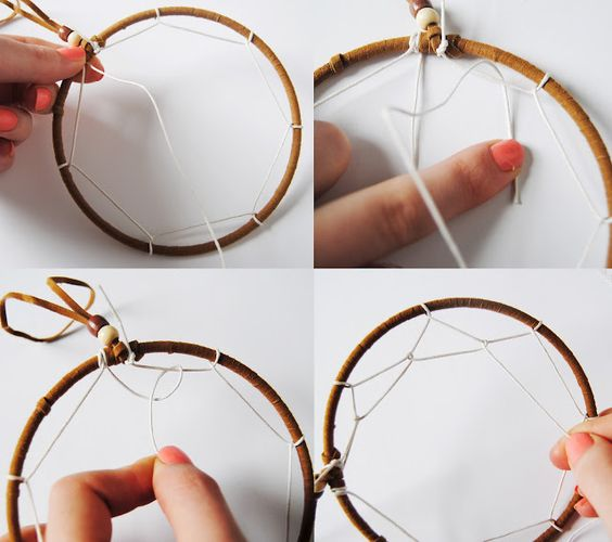 How to make dream catcher earrings the bead shop for How to make homemade dream catchers