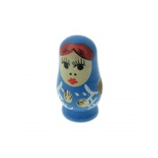 26mm Wooden Doll Bead