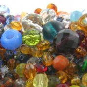 Faceted Glass Bead Mixes