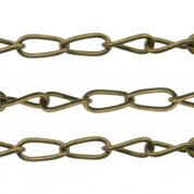Antique Brass Plated Chain
