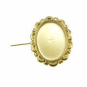 Cameo Mounts - Brooches