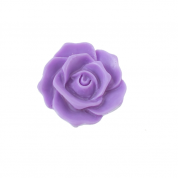 27mm Resin Flat Back Flower