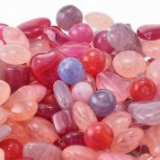 Pressed Czech Glass Bead Mixes