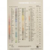 Swarovski Elements Beads Colour Chart