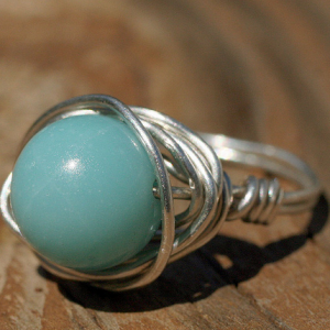 Wire Wrapped Ring | Jewellery Making | The Bead Shop