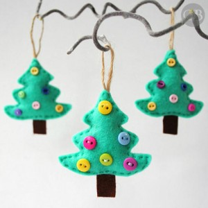 Felt Christmas Tree Decorations