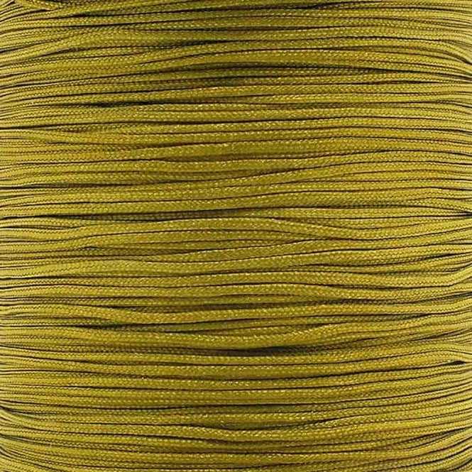 0.6mm Shamballa/Chinese Knotting Nylon Cord - Dark Khaki - 5m