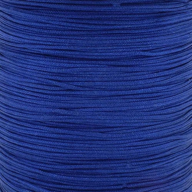 0.6mm Shamballa/Chinese Knotting Nylon Cord - Midnight Blue - 5m