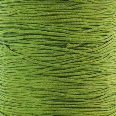 0.6mm Shamballa/Chinese Knotting Nylon Cord - Olive Green - 5m
