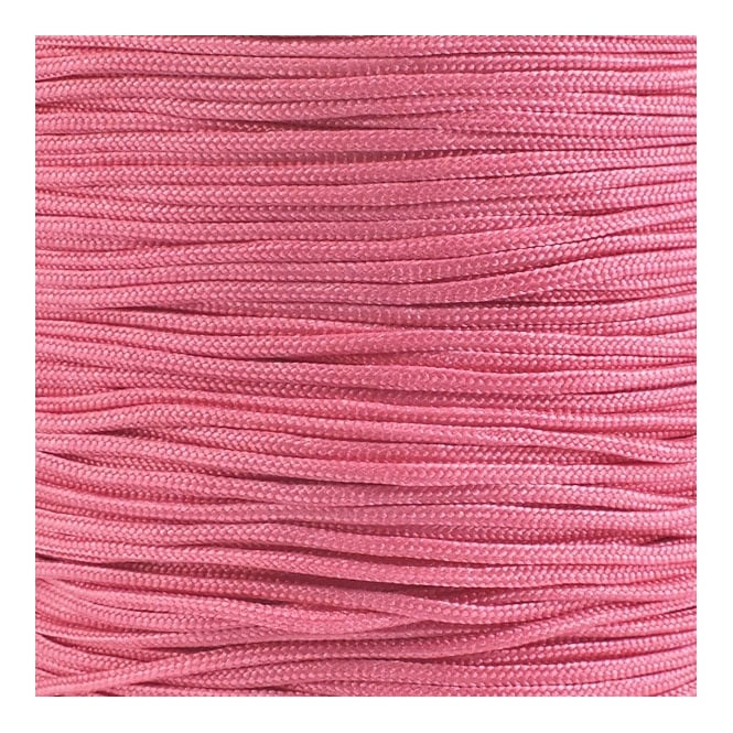 0.6mm Shamballa/Chinese Knotting Nylon Cord - Pink - 5m