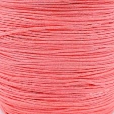 0.6mm Shamballa/Chinese Knotting Nylon Cord - Salmon Pink - 5m