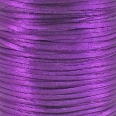 1.5mm Rattail Satin Cord - Blackberry - 5m