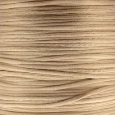 1.5mm Rattail Satin Cord - Champagne - 5m