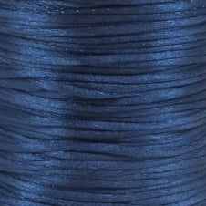 1.5mm Rattail Satin Cord - Navy - 5m