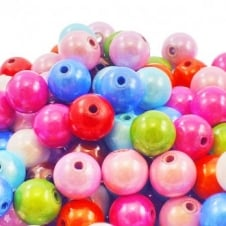 10mm Plastic Miracle Beads - Mix - 10pk