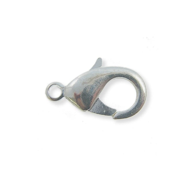 10mm Trigger/Lobster Clasp Catch - Silver Plated - 10pk