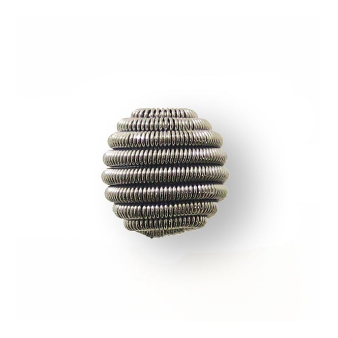 12mm Coil Wire Bead - Black Plated