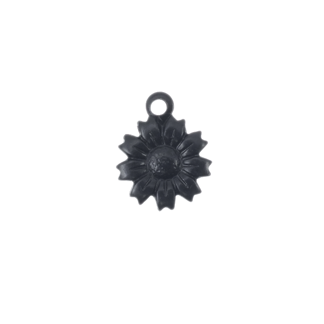 13mm Arte Metal Charm - Tattered Daisy