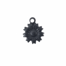 13mm Vintaj Arte Metal Charm - Tattered Daisy