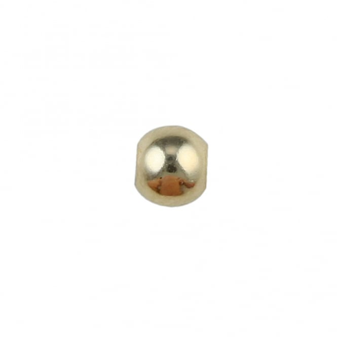 14k Gold Filled - 2.5mm Round Bead - 10pcs