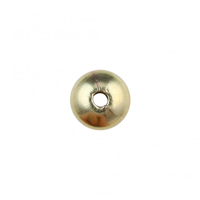 14k Gold Filled - 5mm Saucer Shaped Bead - 5pcs
