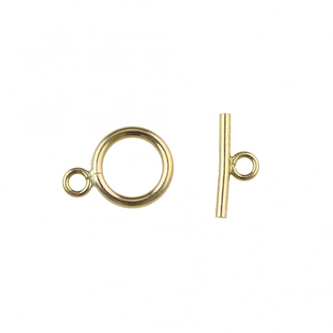 14k Gold Filled - 9mm Toggle Bar Clasp - 1pc