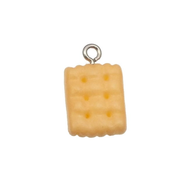 14mm Resin Biscuit Charm