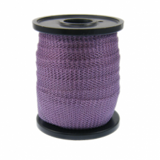 15mm Wide Knitted Copper Wire Mesh Tube - Lilac - 1 Metre