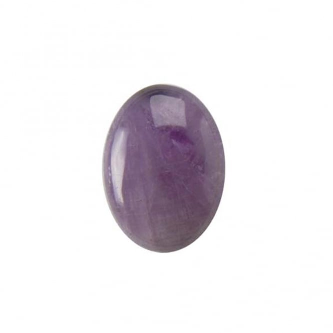 18x13mm Amethyst Lavender Gemstone Cabochon - 1pc