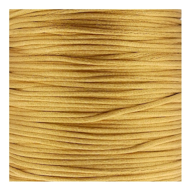 1mm Rattail Satin Cord - Camel - 5m