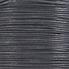1mm Waxed Cotton Cord - Black - 10m