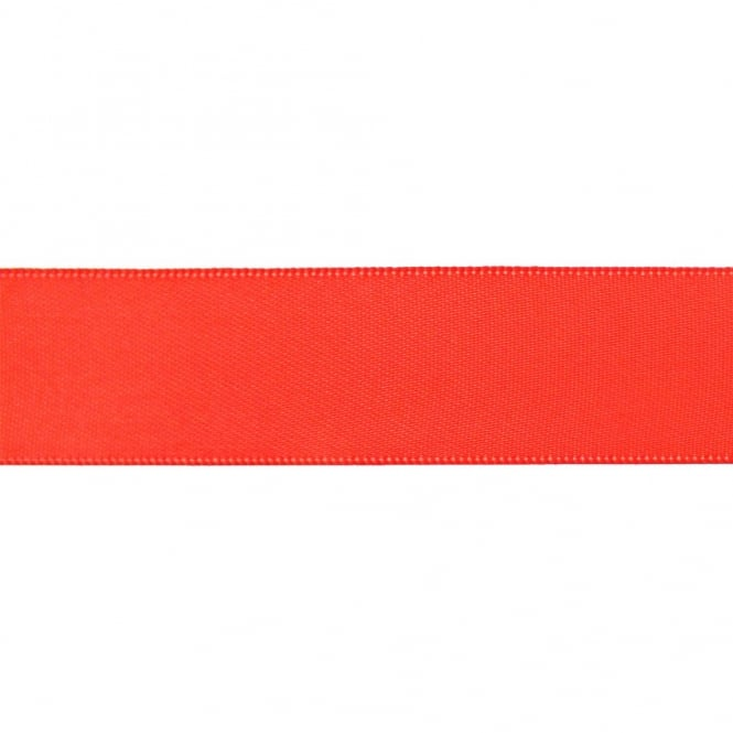 22mm Double Satin Ribbon - Watermelon - 5m