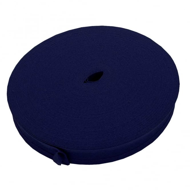 25mm Bias Binding Tape 100% Cotton - Royal Blue - 1m, 5m or 50m