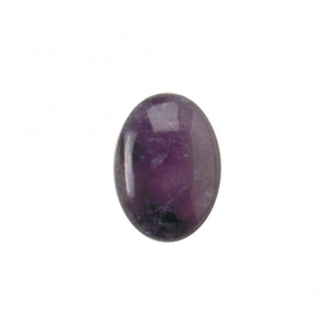 25x18mm Amethyst Gemstone Cabochon - 1pc