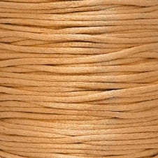 2mm Rattail Satin Cord - Rose Gold - 5m