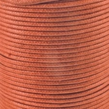 2mm Waxed Cotton Cord - Copper - 5m