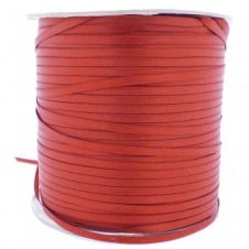 3mm Double Satin Ribbon - Rust - 10m