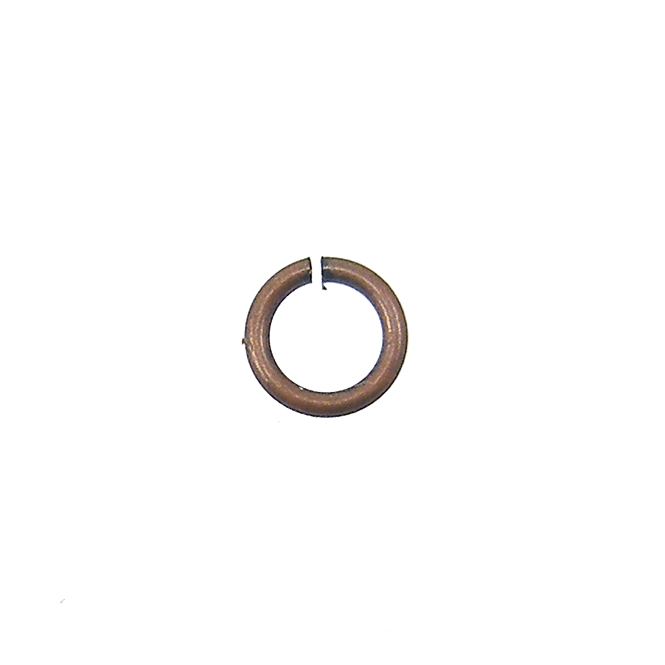 3mm Thin Jump Rings (0.6mm) - Antique Copper Plated - 250pk