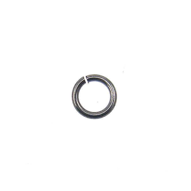 3mm Thin Jump Rings (0.6mm) - Black Plated - 250pk