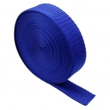 40mm Polypropylene Webbing Strap - Royal - 1 metre