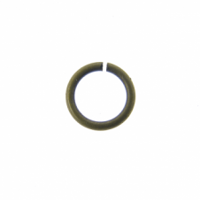 4mm Thin Jump Rings (0.8mm) - Antique Brass Plated - 200pk