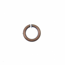 4mm Thin Jump Rings (0.8mm) - Antique Copper Plated - 200pk