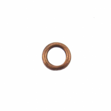 5mm Closed Jump Rings - Antique Copper Plated - 50pk