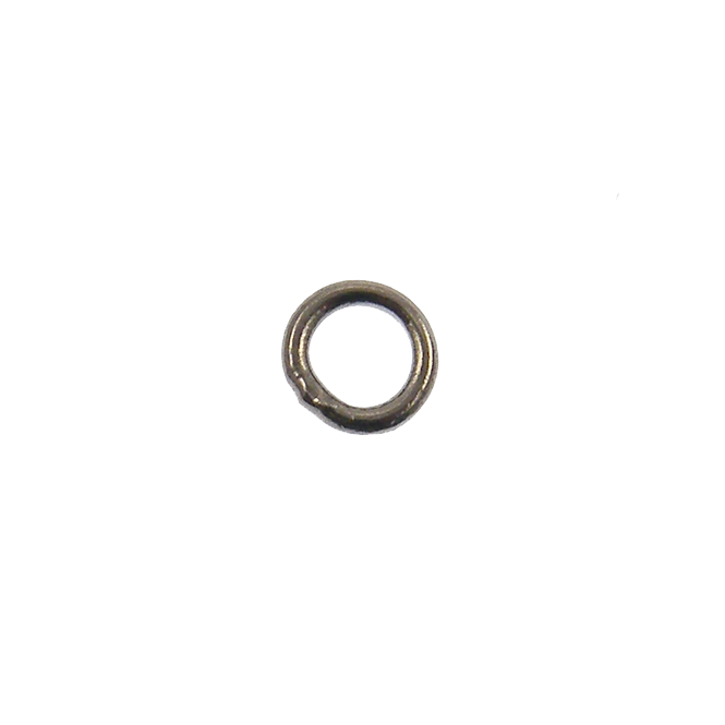 5mm Closed Jump Rings - Black Plated - 50pk