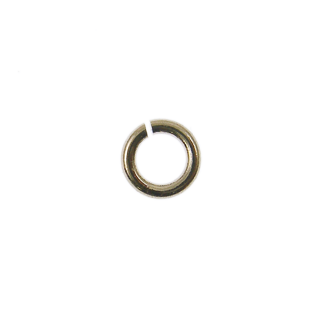 5mm Jump Rings - Champagne Plated - 100pk