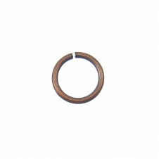 5mm Thin Jump Rings (0.8mm) - Antique Copper Plated - 200pk